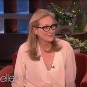 Mery Streep provou porque merece mais um Oscar no programa de Ellen DeGeneres