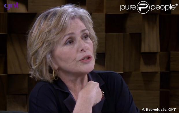 Irene Ravache falou sobre a recuperação do filho mais velho, Hiram, no vício de drogas no 'Marília Gabriela Entrevista'