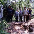 Uma cova que estava preparada para Rebeca (Paula Braun) também é encontrada pela polícia na casa de campo, em 'Amor à Vida'