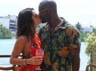 Rafael Zulu beija a nova namorada, Gabriela Arruda, em festa da filha. Fotos!