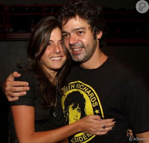 Bruno Mazzeo vai ser pai de novo! Mulher do ator, Joana Jabace,está grávida de gêmeos