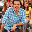 Além dos gêmeos que estão prestes a vir ao mundo, Bruno  Mazzeo  também é pai do pequeno João, fruto do relacionamento com a atriz Renata Castro Barbosa