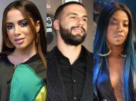 Anitta nega romance com ex de Ludmilla após deixarem boate juntos: 'Armação'