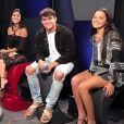 Munik participou do 'Rede BBB', ao lado dos eliminados da 17° edição, Antonio Rafaski, Gabriela Flor e Mayla Araújo, na tarde desta quarta-feira, 1° de fevereiro de 2017