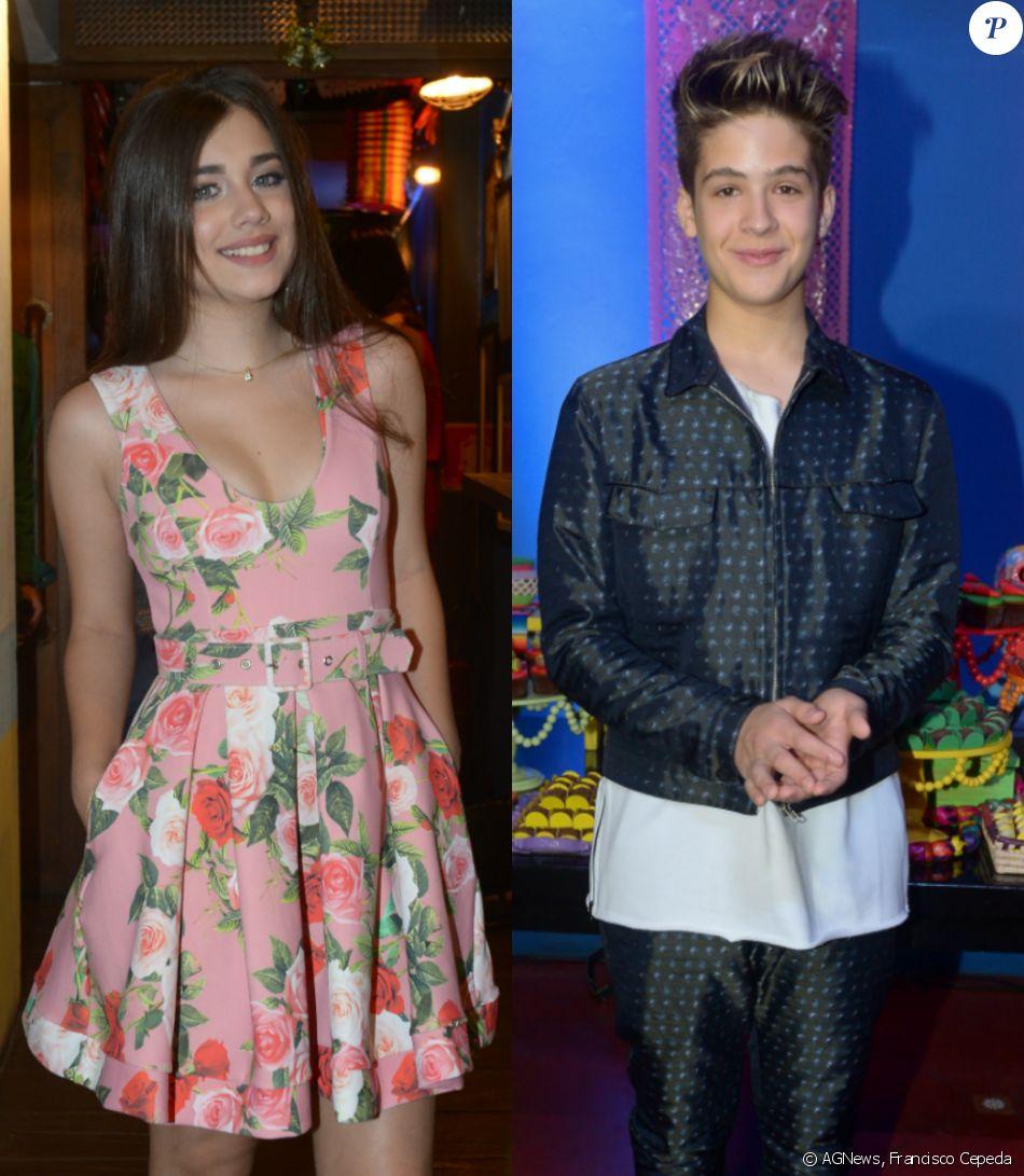 3e92a7bb349be João Guilherme recebeu em seu aniversário de 15 anos a modelo Fábia  Jasmini, já apontada como namorada do ator