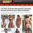 O golpe dos hackers com fotos de Bruna Marquezine viraram notícia na mídia espanhola