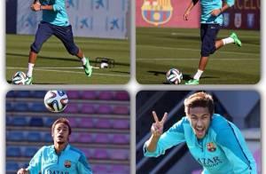 Neymar, craque do Barcelona, faz 22 anos após lesão e feliz com Bruna Marquezine