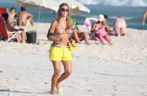 Christine Fernandes comenta elogios a sua boa forma aos 45 anos: 'Lisonjeada'