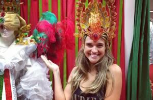 Juliana Paiva vai desfilar pela Grande Rio no Carnaval: 'Será lindo'