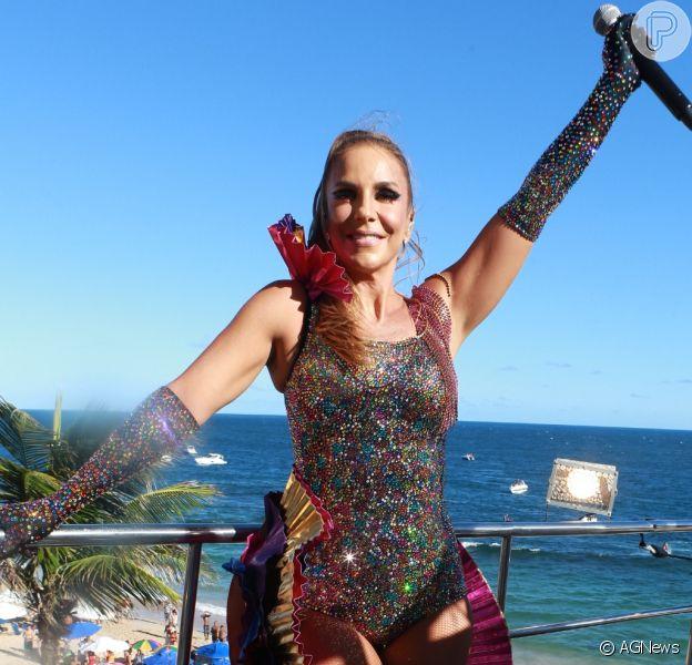 O marido e nutricionista de Ivete Sangalo, Daniel Cady, revelou detalhes da dieta da artista durante o Carnaval