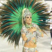 Wanessa Camargo comemora 2º lugar da Mocidade: 'Com muito orgulho'