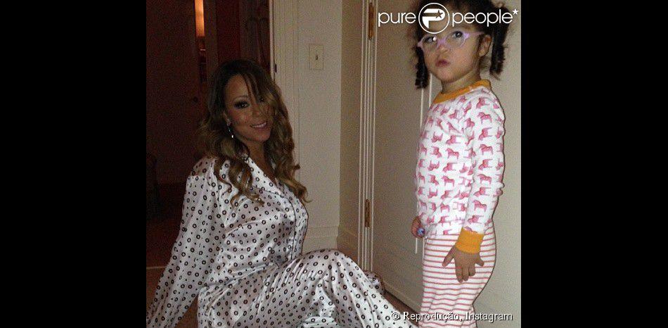 Monroe, de 2 anos, filha de Mariah Carey, vai cantar no próximo álbum da mamãe, em 18 de fevereiro de 2014