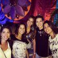 Na noite de sábado, 1º de março de 2013, Bruna Marquezine curtiu a festa Errejota com as amigas