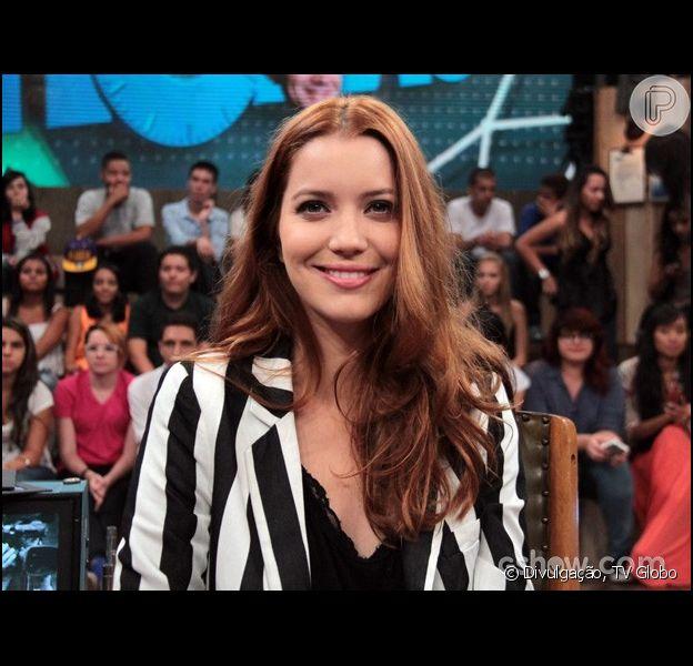 No ar na novela 'Joia Rara', da Globo, Nathalia Dill garante: por um bom papel encararia qualquer tipo de mudança, como revelou durante a gravação do programa 'Altas Horas', da Globo, que vai ao ar sábado, dia 8 de março de 2014