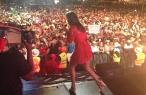 Ivete Sangalo faz seu terceiro show em Angola para 17 mil fãs