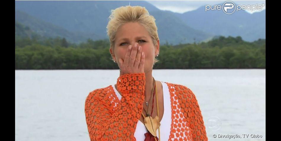 Xuxa Meneghel se despediu do programa 'TV Xuxa' em dezembro de 2013. A apresentadora se afastou para cuidar de uma inflação no pé e também da mãe, Alda, que sofre de Mal de Parkinson