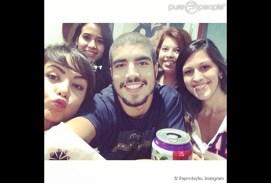 No dia 12 de março de 2014, o casal esteve em um restaurante japonês em São Paulo