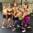 Bruna Marquezine pratica Crossfit ao lado de Giovanna Antonelli e amigas no Rio de Janeiro