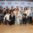 Elenco de 'S.O.S. Mulheres ao Mar' na pré-estreia do filme, no Rio de Janeiro, nesta segunda-feira, 17 de março de 2014