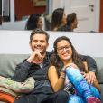 Emilly namorou com o cirurgião plástico Marcos Harter no 'BBB17'