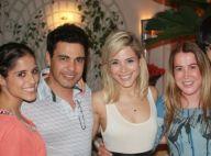 Zezé Di Camargo e a ex, Zilu, posam juntos em aniversário do filho de Wanessa