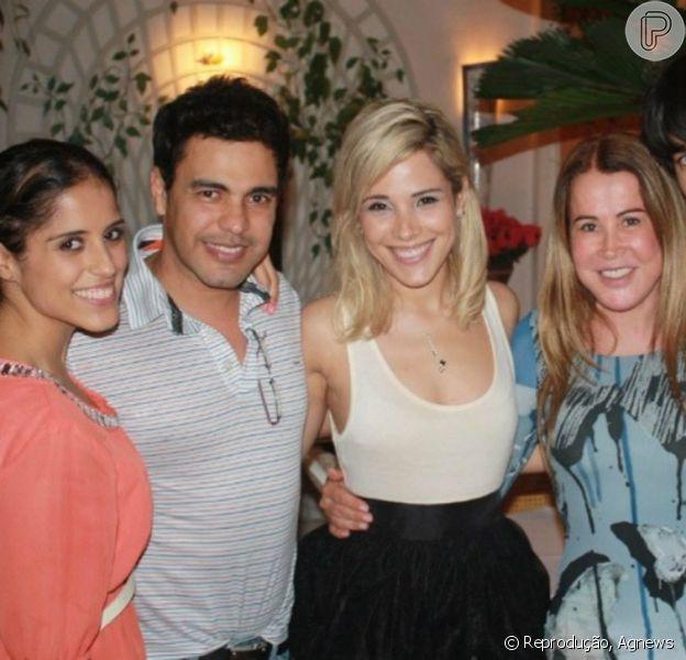 Wanessa reúne os pais, Zezé Di Camargo e Zilu, em festa de aniversário do filho caçula