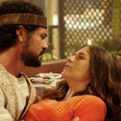Novela 'O Rico e Lázaro': Lia enfrenta parto complicado do 3º filho com Daniel
