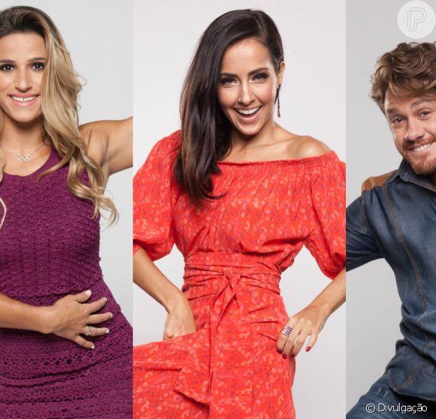 Jade Barbosa, Maytê Piragibe e Leonardo Miggiorin vão dançar três ritmos na final do 'Dancing Brasil', na próxima segunda-feira, 26 de junho de 2017