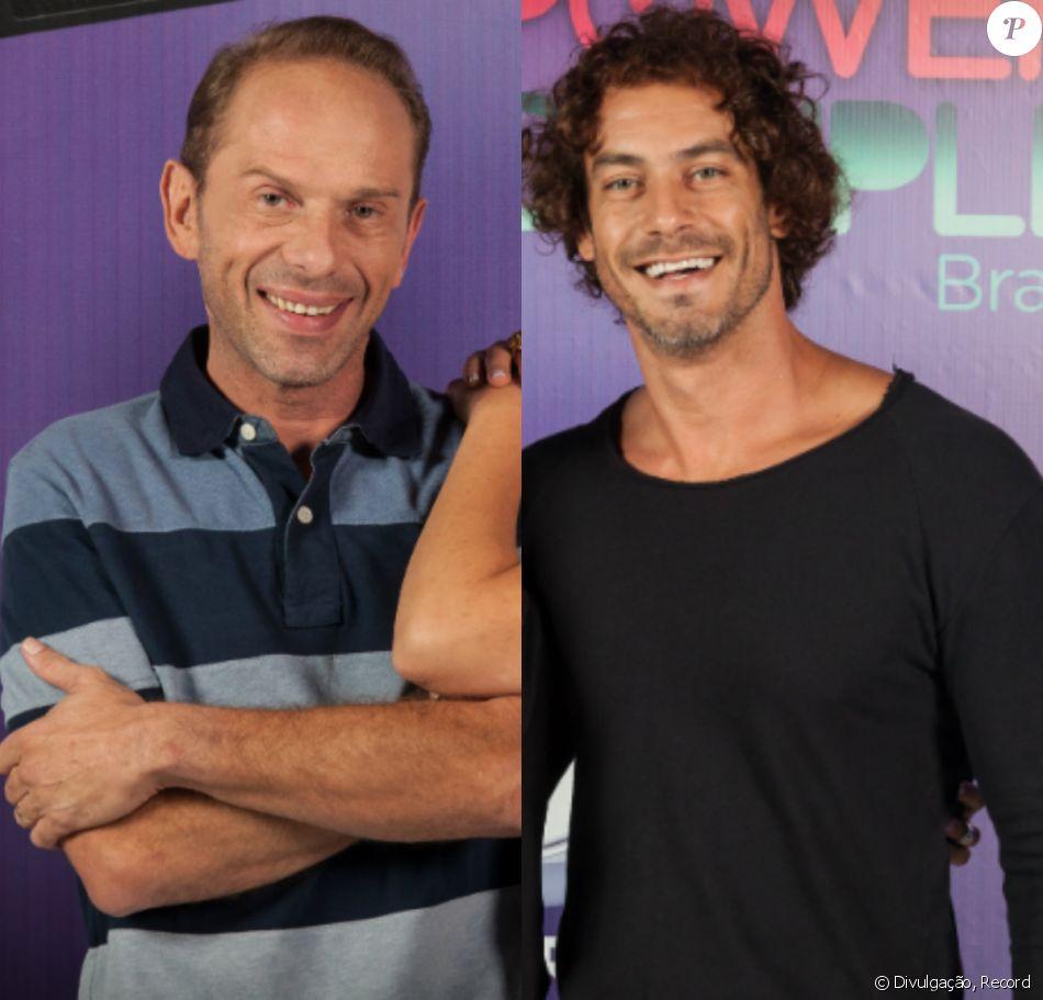 No 'Power Couple Brasil',Rafael Ilha e Diego Cristo fazem barraco ao vivo na TV