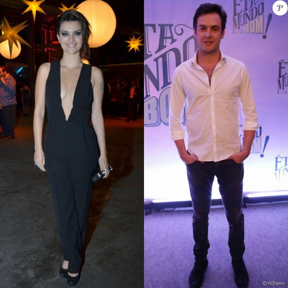 Após fotos em bar, Mayana Neiva diz que é só amiga de Sergio Guizé, ex-namorado de Nathalia Dill
