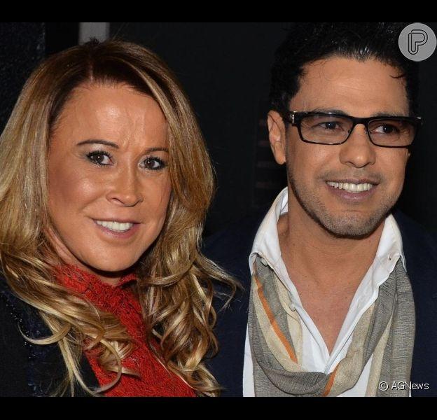 Zezé Di Camargo brinca sobre defeito da ex-mulher, Zilu: 'Bisbilhoteira'