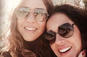 Daniela Mercury ganha homenagem de Malu Verçosa no 1º ano de casamento: 'Minha!'
