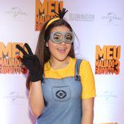 Maisa Silva se veste de Minion em pré-estreia de filme: 'Fantasia irada'. Fotos!