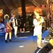 Maiara e Maraisa cantam músicas de Elba Ramalho em festa junina após polêmica