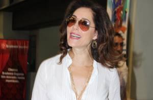 Christiane Torloni será mãe de Rodrigo Lombardi em 'Búu': 'Foge das peruas'