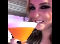 Larissa Manoela dança funk e bebe drinks em festa: 'Sem álcool'. Vídeo!