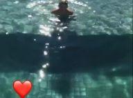 Neymar mostra filho, Davi Lucca, curtindo piscina: 'Dá um mergulho'. Vídeo!