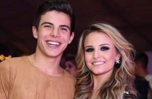 Larissa Manoela apelida Thomaz Costa em comentário de foto: 'Sr. Covinhas'