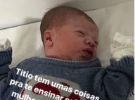 Veja primeira foto de Gabriel, filho de Gusttavo Lima e Andressa Suita