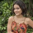 Giullia Buscacio viveu a Olívia na novela 'Velho Chico'