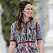 Kate Middleton usa vestido Gucci de R$ 8 mil em visita a museu. Fotos do look!