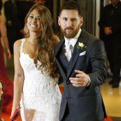 Neymar prestigia casamento de Lionel Messi e Antonella Roccuzzo: 'Felicidades'