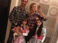 Ticiane Pinheiro curte festa junina com Cesar Tralli e filha: 'Arraial da Lu'