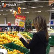 Rafael Vitti filma Tatá Werneck tentando abrir sacola no supermercado: 'Saga'