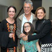 Silvia Buarque recebe Marieta Severo e Chico Buarque em pré-estreia de filme