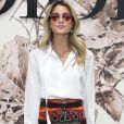 A influencer, blogueira e empresária brasileira Helena Bordon se jogou no estilo boho chic para o desfile de alta-costura que celebrou os 70 anos da Dior, em Paris, na França, em 3 de julho de 2017