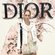 A consultora de moda Sofia Sanchez de Betak prestigiou o desfile de alta-costura que celebrou os 70 anos da Dior, em Paris, na França, em 3 de julho de 2017