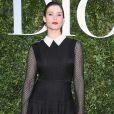 """Gemma Arterton, atriz britânica, surgiu com um look elegante  no lançamento da exibição """"Christian Dior, couturier du rêve"""", em celebração aos 70 anos da Dior, em Paris, na França, em 3 de julho de 2017"""