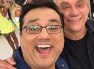 Geraldo Luís se preocupa após Marcelo Rezende parar quimioterapia: 'Ore por ele'