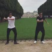 Bruno Gissoni, após nascimento da filha, viaja a Paris com irmão: 'Incrível'